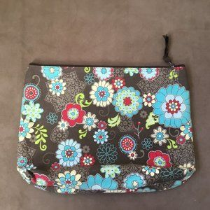 Thirty One Fanfare Cosmetic Travel Make Up Case